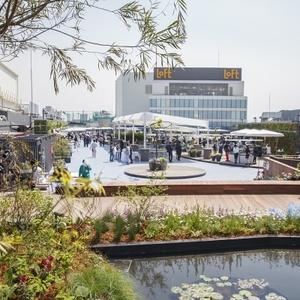 池袋にオープン!西武デパート屋上の「食と緑の空中庭園」とは