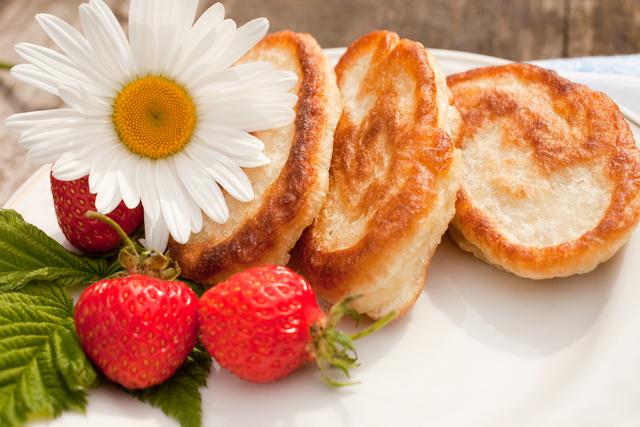 カモミールパンケーキ