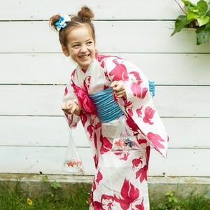 着崩れしにくいセパレート&カシュクールが便利!子どもの浴衣の選び方