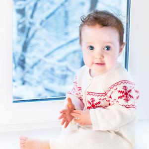 寒い冬から赤ちゃんを守る!UNIQLOのベビーのヒートテック♡