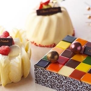 クリスマスはちょこっと奮発!一流ホテルの個性派ケーキ4つ♡
