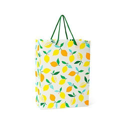 フライングタイガーのレモン柄バッグ