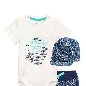 夏の赤ちゃんの必需品『H&M』のセットアイテムは着心地抜群!