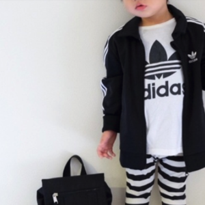 男の子も女の子も使える!「adidas」のキッズコーデがおしゃれ♡