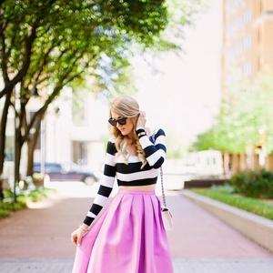 春のピンクコーデ♡好感のもてる上品なスタイルの作り方!