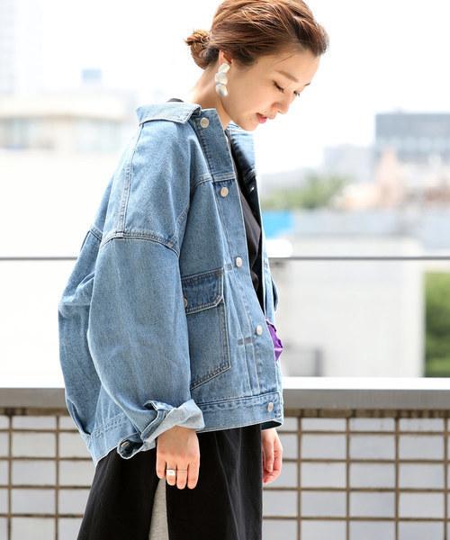 REAK'S STORE 【WEB限定】のスーパービッグシルエット デニムジャケット