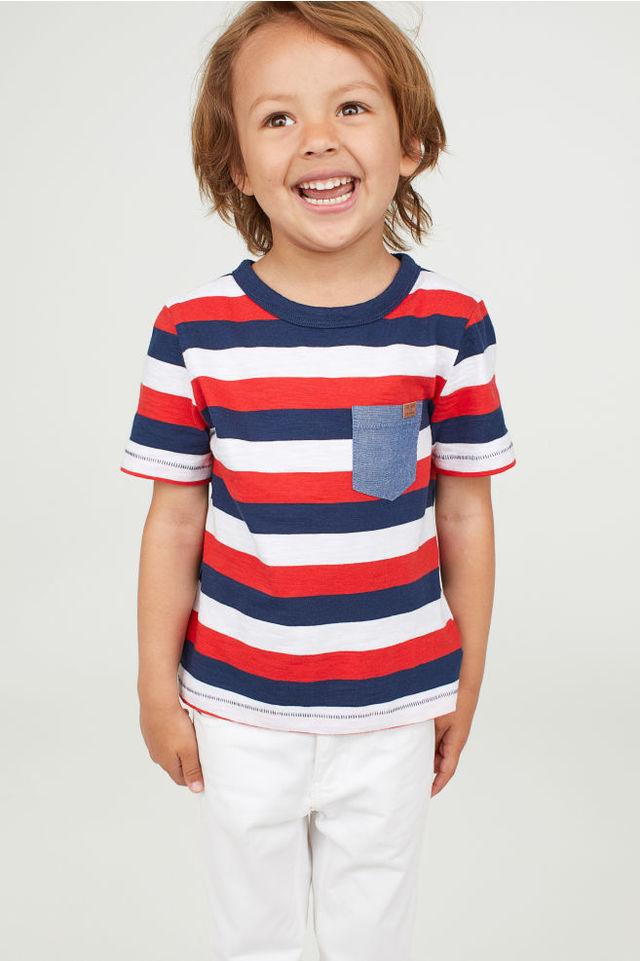 H&MのパターンTシャツ