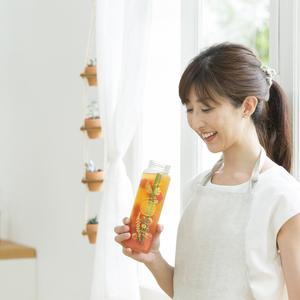 夏旬フルーツをオシャレに楽しむ♡自家製『Fruits in Tea』レシピ