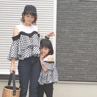 親子でおそろい♡トレンド柄がおしゃれなリンクコーデ集【最新版】