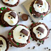 クリスマスの新レシピ♡とろけ具合が絶妙な「スノーマンクッキー」