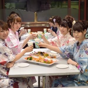 今年の東京湾納涼船は7月1日から!浴衣を着て東京湾を満喫しよう♪