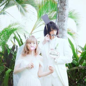 白ユリのブーケに込めた誓いに感動の涙♡神田沙也加さんのハワイ挙式