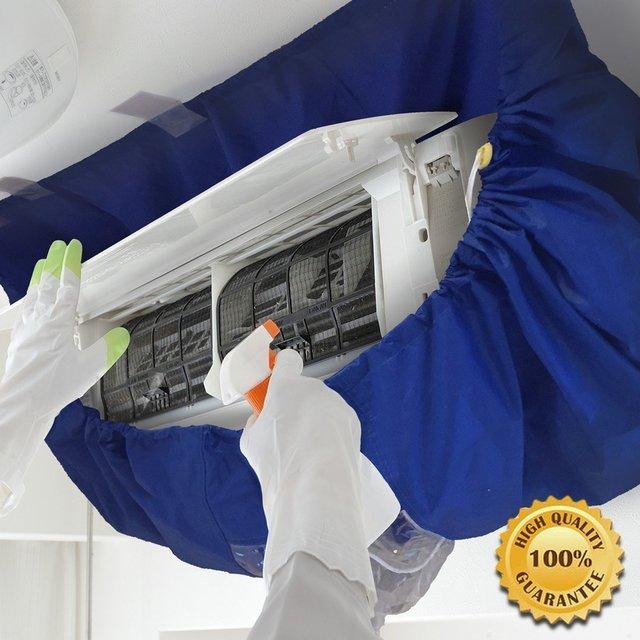 エアコン掃除カバー