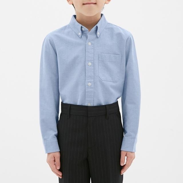 GU オックスフォードシャツ(長袖)CL