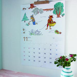『ぐりとぐら』など♪絵本カレンダー2019がほっこりかわいい♡