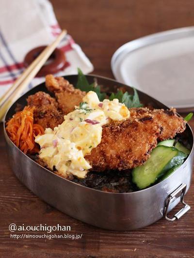 白身魚フライのタルタルのり弁のレシピ