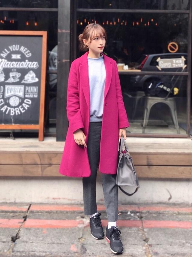 wearのピンクコーデ