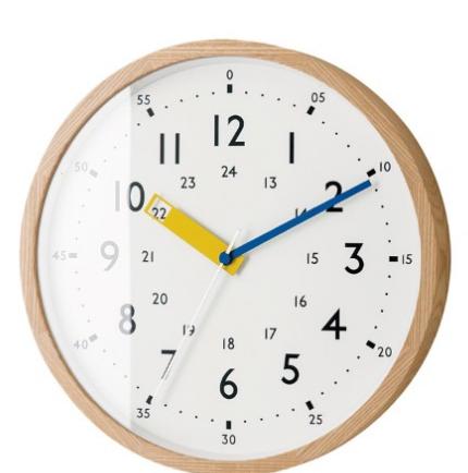 ベルメゾンの電波時計