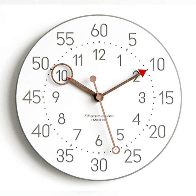 北欧風の学習時計