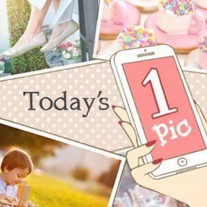 《今日の1pic》夏らしい♡フランフランのパイナップル柄ポーチ