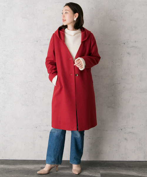 URBAN RESEARCH ROSSO WOMENのカラーコート