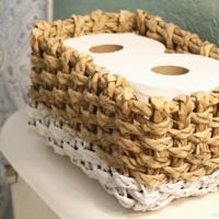 トイレのおしゃれ度が一気にUP♡トイレットペーパーの収納術8選