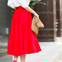 用「紅色」單品來打造擁有成熟女人味的法式休閒風♡春季新品特集介紹~