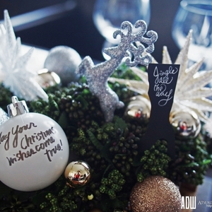 ツリーがなくても大丈夫♪クリスマス仕様のデコレーションアイディア