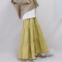 イエローのスカートを使ったコーデ15選♪春っぽさに「きゅん」