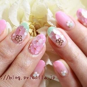桜ネイルで決まり♪お花見で差がつくオシャレデザイン4選♡