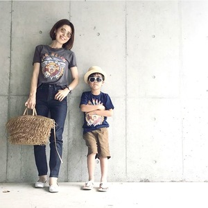 親子リンクTシャツが可愛い!と思ったらUNIQLO&GUでした♡