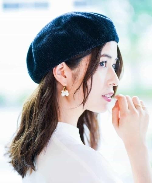 秋のトレンドベレー帽