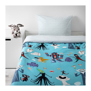 寝るのが待ち遠しくなる♪IKEAの子供用「布団カバー」が可愛い!