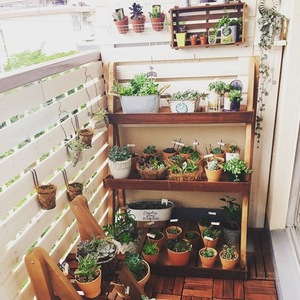 家庭菜園が楽しくなる♪「ベランダDIY」の素敵なアイデア6選