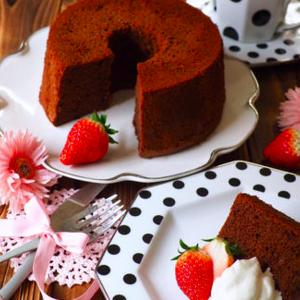 シフォンケーキのアレンジレシピ♪おやつタイムが嬉しくなる!