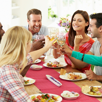 芸能人宅の鍋パーティーに潜入!ちょっと寒い日の夕飯はコレで決まり♪