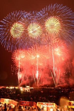熊谷花火大会の花火
