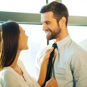 夫を出世させたいのなら!毎日のネクタイは妻が選ぶべし♡
