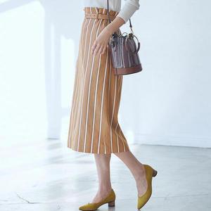 【2019春新作】ストライプ柄のスカート♪上品さこそが楽しむコツ
