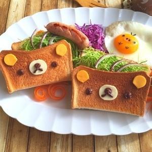 子供が喜ぶ♪朝が楽しくなる「アートトースト」を作ろう!