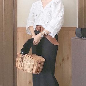全て3千円以内♪GUの人気「スカート」で作るフェミニン春コーデ♡