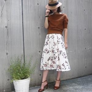 上品でモードなスカートが豊富♡秋のエベルモーションは見逃せない!