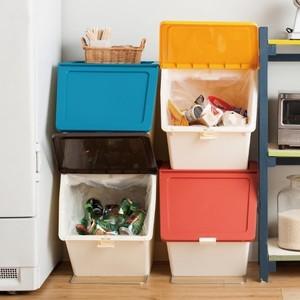 積み重ねて省スペースに!おしゃれな「スタッキングごみ箱」7つ