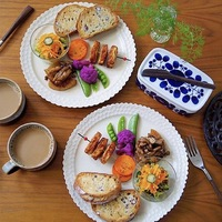 簡単ワンプレートなのにおしゃれ&美味しそう♡朝食の盛り付け見本帖