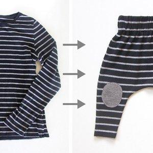 着られなくなった服をアレンジ♪子ども服の《リメイクアイデア》7つ