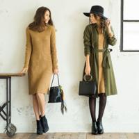 豐富的重複穿搭方法♡UNIQLO的¥2990針織連身洋裝特集介紹♪