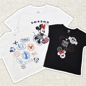 ユニクロで夏休みも親子リンクコーデ♪ディズニーTシャツ特集