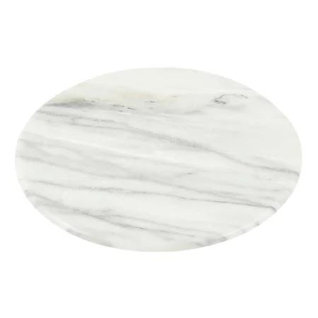 大理石柄の回転テーブル