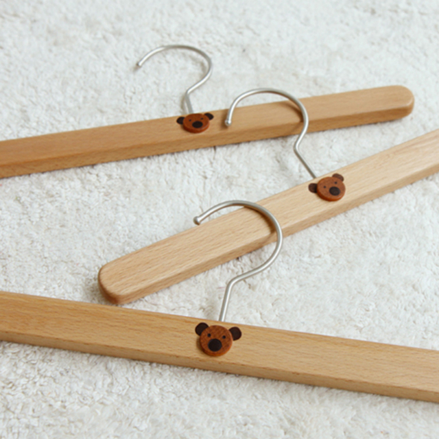 木製 キッズハンガー
