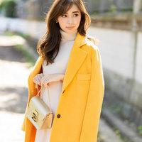 華やかな冬ファッションがおしゃれ♪きれい色を投入するコツって?